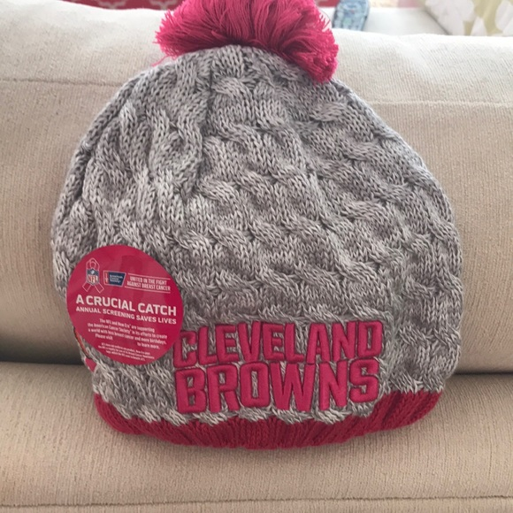 71b5e79b112 Cleveland Browns winter hat